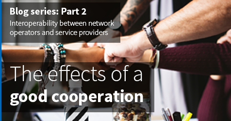Interoperability between network operators and service providers in an open access network, part 2: The effects of a good cooperation